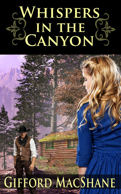 New book: WHISPERS IN THE CANYON