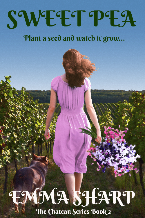 New book: Sweet Pea, The Chateau series book 2