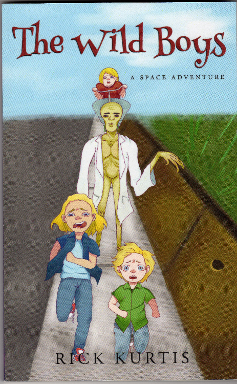 The Wild Boys; a Space Adventre by richard heinreich