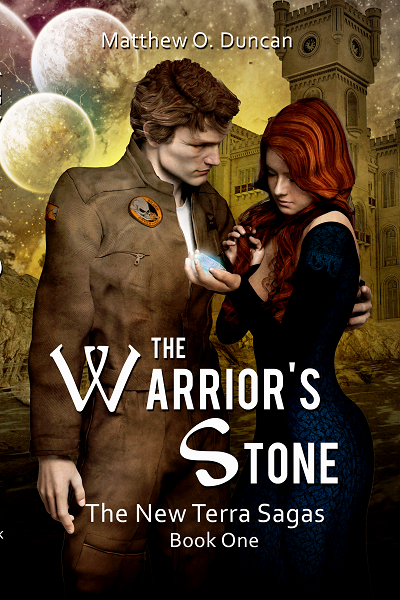 New book: The Warrior's Stone: Book 1 of the New Terra Sagas