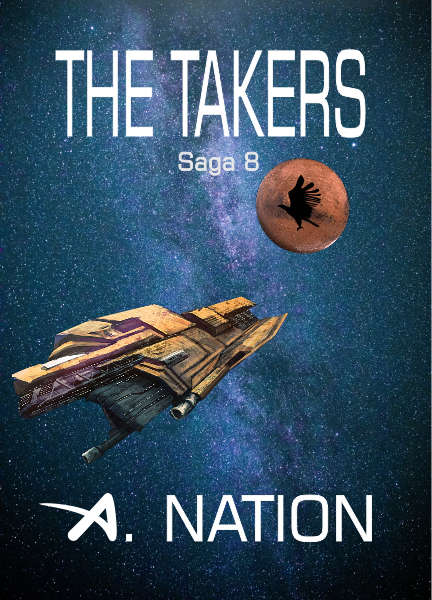 New book: The Takers: From the Dark of Night - Saga 8